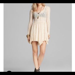 Free people slip dress: Star Lace witchy